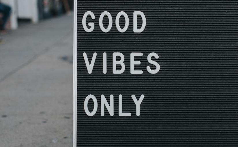 The Good Vibes Only Roadshow – What Is YourVision?